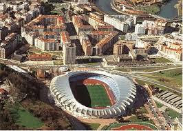 Atletico madrid finally opens its new stadium on september 16, 2017, moving to estadio wanda metropolitano from the famed estadio vicente calderon in the spanish capital. Real Sociedad Anoeta Stadium Guide Spanish Grounds Football Stadiums Co Uk