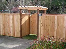 Driveway Wood Fence Gate Design Ideas KITCHENTODAY