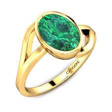 Simple Emerald Ring Design Lyndey Emerald Ring