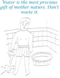 Small Picture Coloring Page Water Conservation Coloring Pages Coloring Page