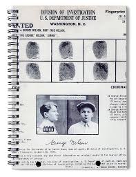 Criminal Wanted Poster Mesmerizing Baby Face Nelson Wanted Poster 48 Spiral Notebook For Sale By