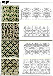 Crochet Charts Chalecos De Ganchilo Crochet Lace Charts Patterns Mor
