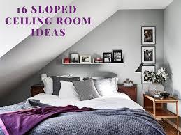 Sloped Ceiling Bedroom