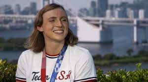 Katie Ledecky shares what she ate as ...