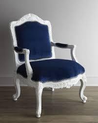 blue and white chair. \u0027Gabrielle\u0027 Chair - Neiman Marcus Blue And White