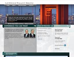 San Francisco Web Design Cool Looking Html Web Design For A San Francisco Law Firm