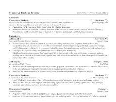 Sample Banking Resumes Resume Sample Web