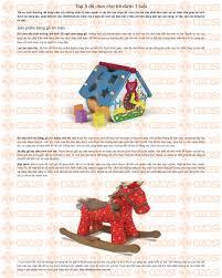 Top 5 đồ chơi cho trẻ dưới 1 tuổi