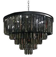 odeon crystal chandelier crystal fringe chandelier odeon crystal fringe 5 tier chandelier lighting