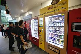 Vending Machine Science Project Simple Getting A Taste Of Food Vending Business Singapore News Top