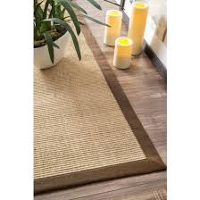 3 x 5 machine woven orsay sisal rug brown rug
