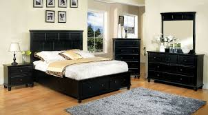 Full Size of Bedroom:appealing Willow Creek Black Platform Storage Bedroom  Set, Cm7690bk Q Large Size of Bedroom:appealing Willow Creek Black Platform  ...