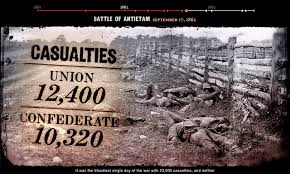 Image result for the bloodiest battle of the Civil War.
