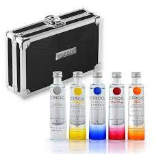 ciroc vodka miniature gift set minibar bottle