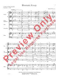 dramatic essay by mark williams j w pepper sheet music dramatic essay mark williams alfred music publishing