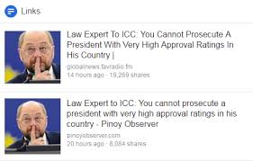 Busted Due Law Icc Said Prosecute Professor Oxford Cannot Duterte vvwrqZO
