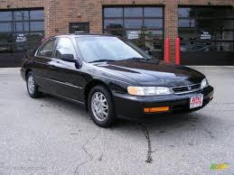1996 Granada Black Pearl Metallic Honda Accord LX V6 Sedan ...