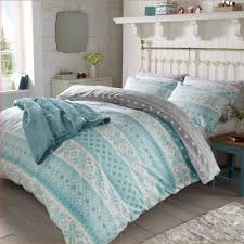 light teal comforter