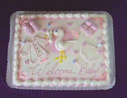 Photo Baby Shower Cake Inscription Image