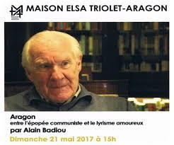 conférence d alain badiou annulee maison elsa triolet aragon saint arnoult en yvelines
