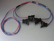 tpi wiring harness 85 95 tpi lt1 camaro corvette fuel injector connector wiring harness assembly rh