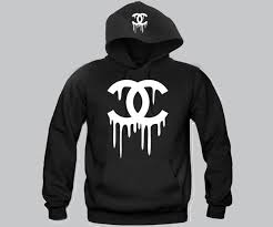 chanel hoodie. chanel hoodie h