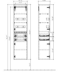 <b>Шкаф</b>-<b>пенал Villeroy & Boch Venticello</b> A95111DH (<b>A951</b> 11 DH)
