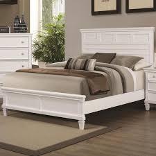 white wood bedroom furniture. Beautiful Wood White Wood Bed And Bedroom Furniture O