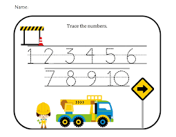 number templates 1 10 numbers templates for children 13290