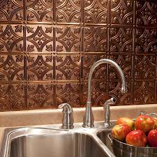 Kitchen Backsplash Panel Faux Tin Kitchen Backsplash