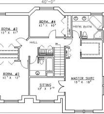 Small Picture Simple house plans 4 bedrooms