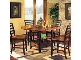 Steve Silver Abaco 5 Piece Gathering Table Set With Storage Base And