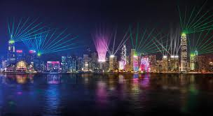 Where To See Symphony Of Lights Hong Kong Hong Kongs A Symphony Of Lights The Independent