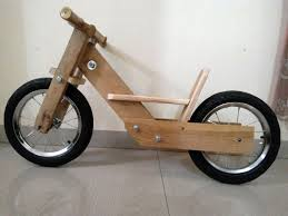picture of diy balance bike