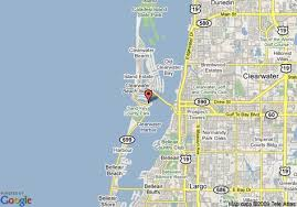 Chart House Suites On Clearwater Bay Clearwater Fl Clearwater Bay Florida Map Of Chart House Suites On