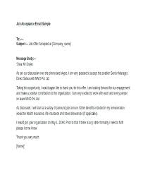 Accept Offer Letter Reply Job Offer Acceptance Letter Reply Fresh Fer Resume Template Ideas