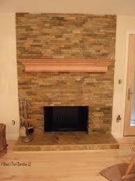 slate tiles for fireplace