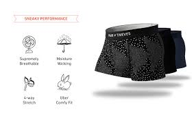 Pair Of Thieves Size Chart Pair Of Thieves Mens 3 Pack Cool Breeze Trunks 3 Pack Premium Mens Underwear No Swass Guarantee