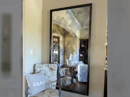 antique mirror rosettes dallas