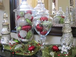Decorating With Apothecary Jars For Christmas Christmas Ornaments aren't just for the Tree Mercury glass Jar 1