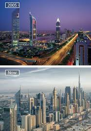 Dubai Before And After Ad How Famous City Changed Timelapse Evolution Before After 27