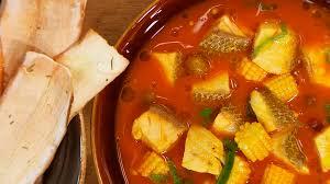 Receta De Sopa De Pescado Y Yuca