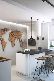11 constructing a wooden map for your kitchen wall diy wood decor homesthetics