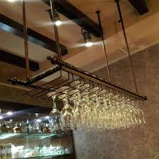 glass holders for bars image result for industrial wine glass hanging rack pub hanging glass holders glass holders