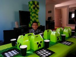 Minecraft Party Decorations Minecraft Party Themes For Kids Party Rental
