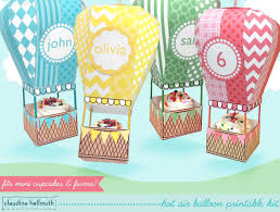 fluffy clouds colourful cake cookies decorations boxes toys rainbow uniqe hot air balloon party favors carried away colored up up chevron
