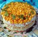 Салат из крабовых палочек и свежей моркови