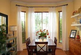 kitchen bay window curtains. Wonderful Bay Kitchen Bay Window Treatments Dining Room Ideas Treatment  Idea For Intended Kitchen Bay Window Curtains U