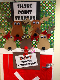 christmas office door decorating ideas. christmas door decorations reindeer 13 office decorating ideas i