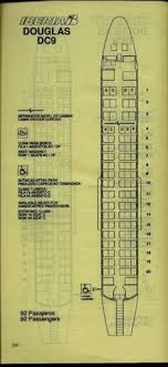 Delta Dc 9 Seating Chart 170 Best Airline Seat Maps Images In 2019 Aircraft